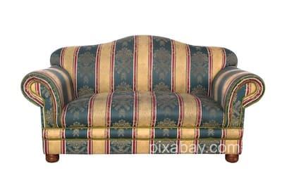 Перетяжка диванов, кресел, мягких уголков